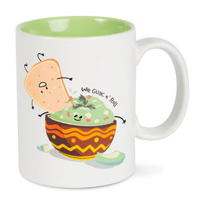 Chips and Guac by Late Night Snacks - 18 oz Mug