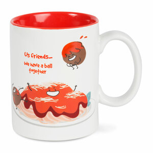 Spaghetti and Meatball by Late Night Snacks - 18 oz Mug