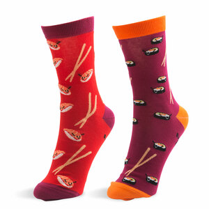 Sushi by Late Night Snacks - S/M Unisex Socks