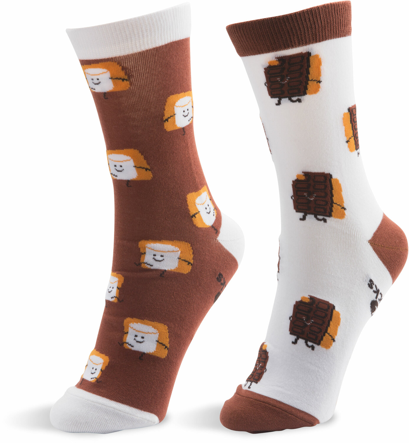 S'mores by Late Night Snacks - S'mores - S/M Unisex Socks