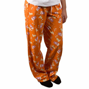 Popcorn and Butter by Late Night Snacks - XS Orange Unisex Lounge Pants