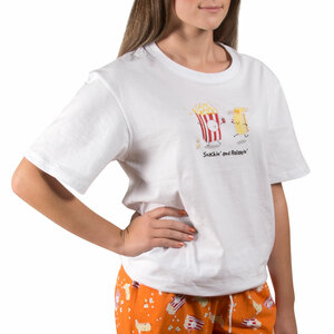 Popcorn and Butter by Late Night Snacks - XL Unisex T-Shirt