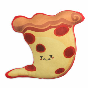 "Pizza by Late Night Snacks - 14.5"" Character Pillow"