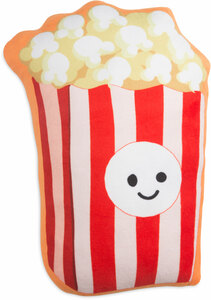 "Popcorn by Late Night Snacks - 16.5"" Character Pillow"