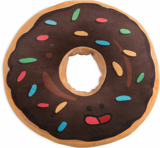 "Donut by Late Night Snacks - 18.5"" Character Pillow"