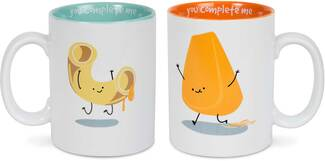 Mac and Cheese by Late Night Snacks - 18 oz Mug Set
