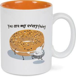 Everything Bagel by Late Night Snacks - 18 oz Mug