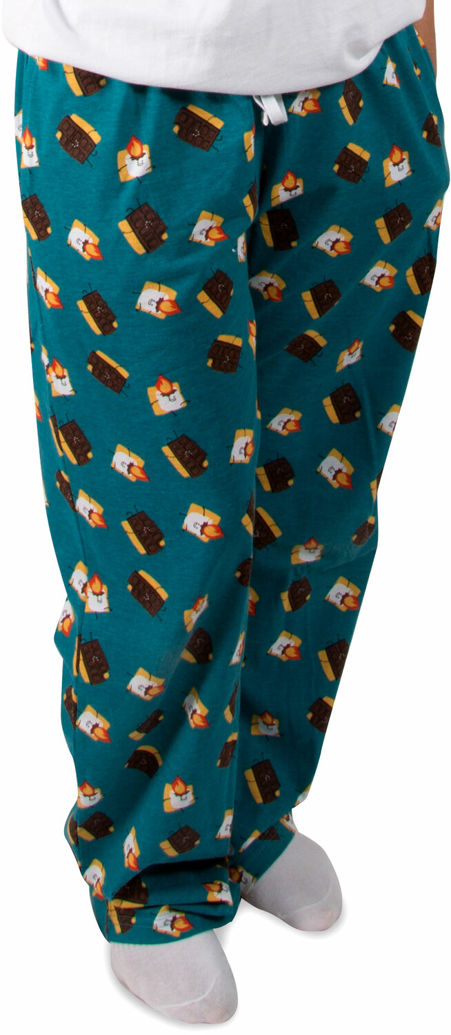 S'mores by Late Night Snacks - S'mores - XS Teal Unisex Lounge Pants