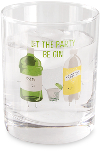 Gin & Tonic by Late Night Last Call - 11 oz Rocks  Glass