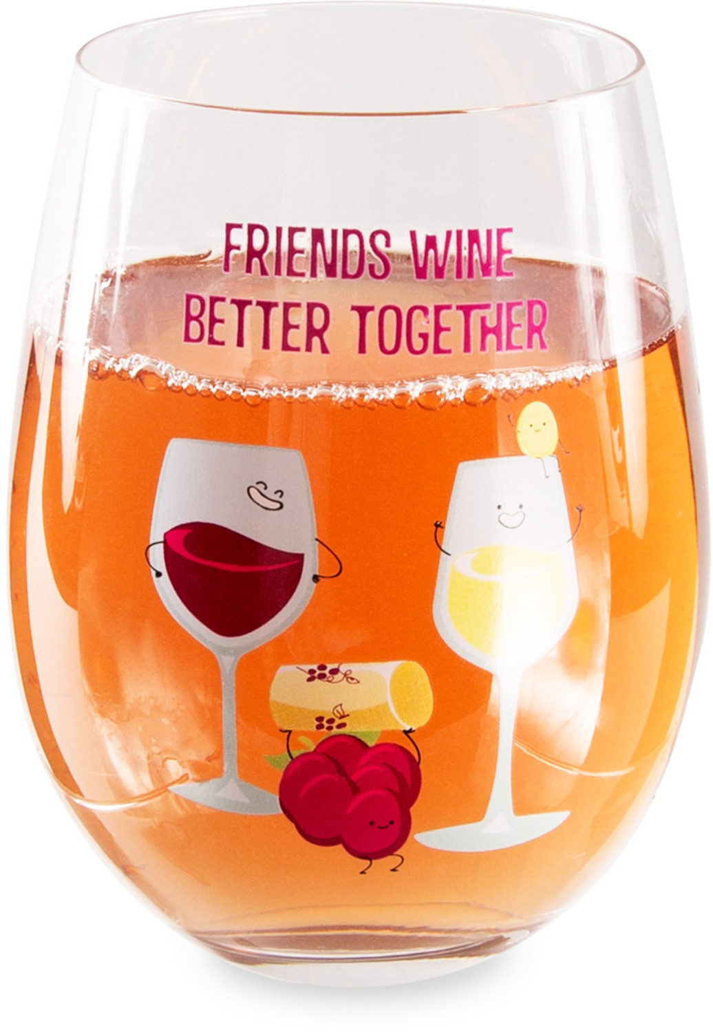Wine by Late Night Last Call - Wine - 18 oz Stemless Wine Glass