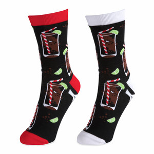 Rum & Cola by Late Night Last Call - S/M Unisex Socks
