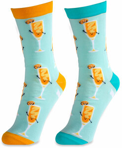 Mimosa by Late Night Last Call - S/M Unisex Socks