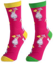 Pina Colada by Late Night Last Call - S/M Unisex Socks