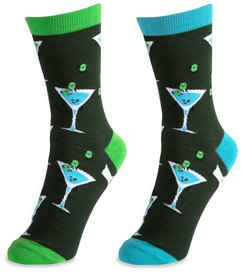 Martini by Late Night Last Call - S/M Unisex Socks
