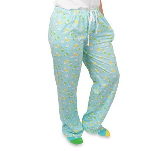 Gin & Tonic by Late Night Last Call - XS Light Blue Unisex Lounge Pants