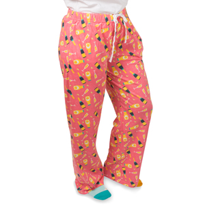 Mimosa by Late Night Last Call - XS Peach Unisex Lounge Pants