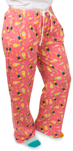 Mimosa by Late Night Last Call - M Peach Unisex Lounge Pants