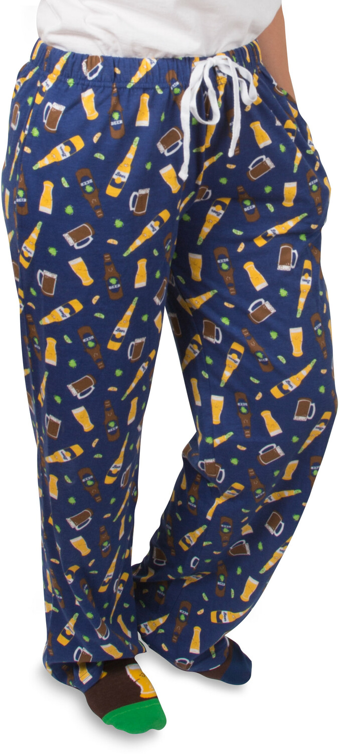 Beer by Late Night Last Call - Beer - XS Blue Unisex Lounge Pants