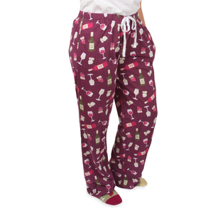 Wine by Late Night Last Call - XS Wine Unisex Lounge Pants