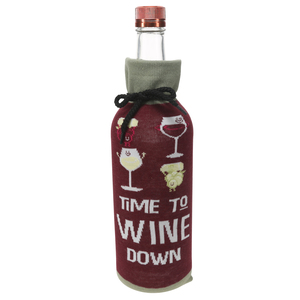 Wine Down by Late Night Last Call - Knitted Bottle Sock