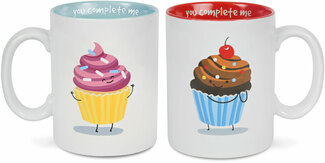 Cupcakes by Late Night Snacks - 18 oz Mug Set
