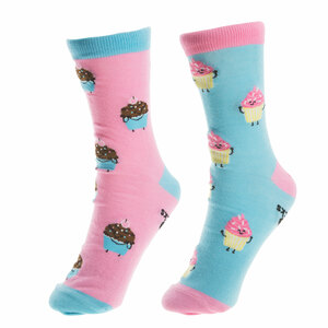 Cupcakes by Late Night Snacks - S/M Unisex Socks