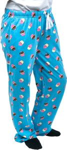 Cupcakes by Late Night Snacks - M Light Blue Unisex Lounge Pants