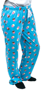 Cupcakes by Late Night Snacks - L Light Blue Unisex Lounge Pants