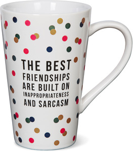The Best Friendships by Girlfinds - 18 oz. Mug