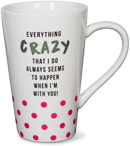 Everything Crazy by Girlfinds - 18 oz. Mug