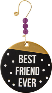 "Best Friend Ever by Girlfinds - 3.5"" Paper Ornament"