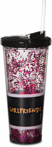 Girlfriends by Girlfinds - 22 oz Glitter Tumbler