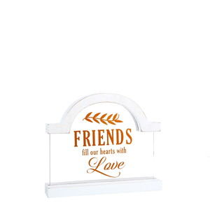 "Friends by Blessed by You - 5"" Self Standing Plaque"