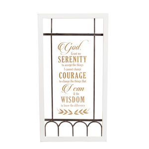 "Serenity Prayer by Blessed by You - 14.5"" x 27.5"" Wall Plaque"