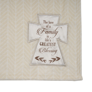 "Family by Blessed by You - 50"" x 60"" Royal Plush Blanket"