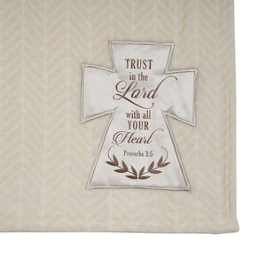 "Lord by Blessed by You - 50"" x 60"" Royal Plush Blanket"