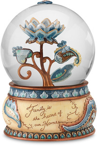 Family by Perfectly Paisley - 100mm Musical Water Globe