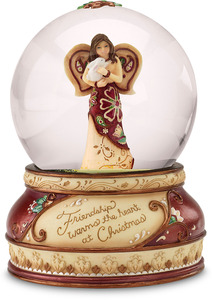 Friendship by Perfectly Paisley Holiday - 100mm Musical Water Globe