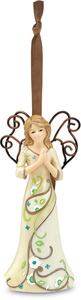 "Prayers by Perfectly Paisley - 4.5"" Angel Praying Ornament"