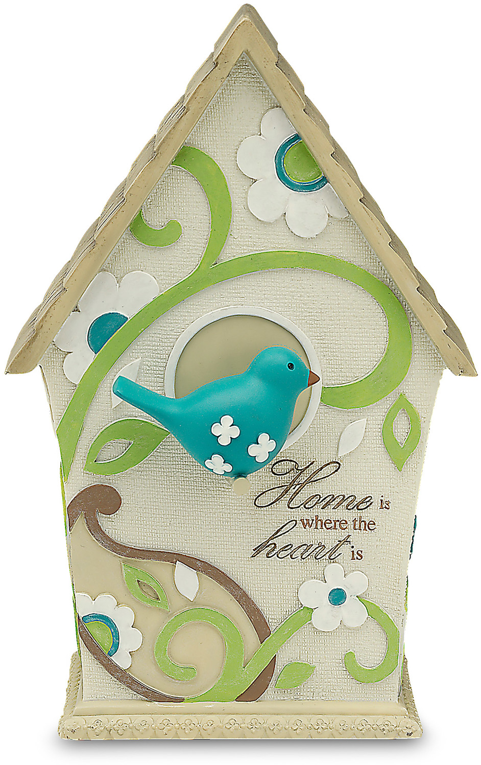 "Home by Perfectly Paisley - Home - 7.5"" Decorative Birdhouse"