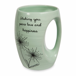 Peace Love and Happiness by Dandelion Wishes - 16oz. Mug