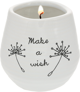 Make a Wish by Dandelion Wishes - 8 oz - 100% Soy Wax Candle Scent: Serenity