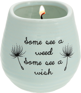 Some See a Wish by Dandelion Wishes - 8 oz - 100% Soy Wax Candle Scent: Serenity