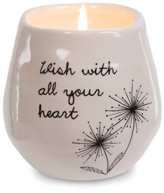 All Your Heart by Dandelion Wishes - 8 oz - 100% Soy Wax Candle Scent: Serenity