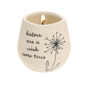 Sister by Dandelion Wishes - 8 oz - 100% Soy Wax Candle Scent: Serenity