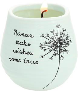 Nana by Dandelion Wishes - 8 oz - 100% Soy Wax Candle Scent: Serenity