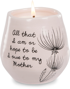 Mother by Dandelion Wishes - 8 oz - 100% Soy Wax Candle Scent: Serenity