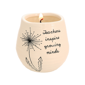Teacher by Dandelion Wishes - 8 oz - 100% Soy Wax Candle Scent: Serenity