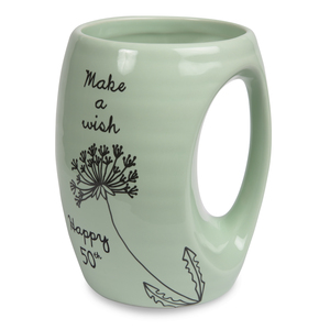 50th by Dandelion Wishes - 16oz. Mug