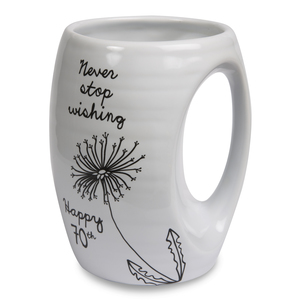 70th by Dandelion Wishes - 16oz. Mug